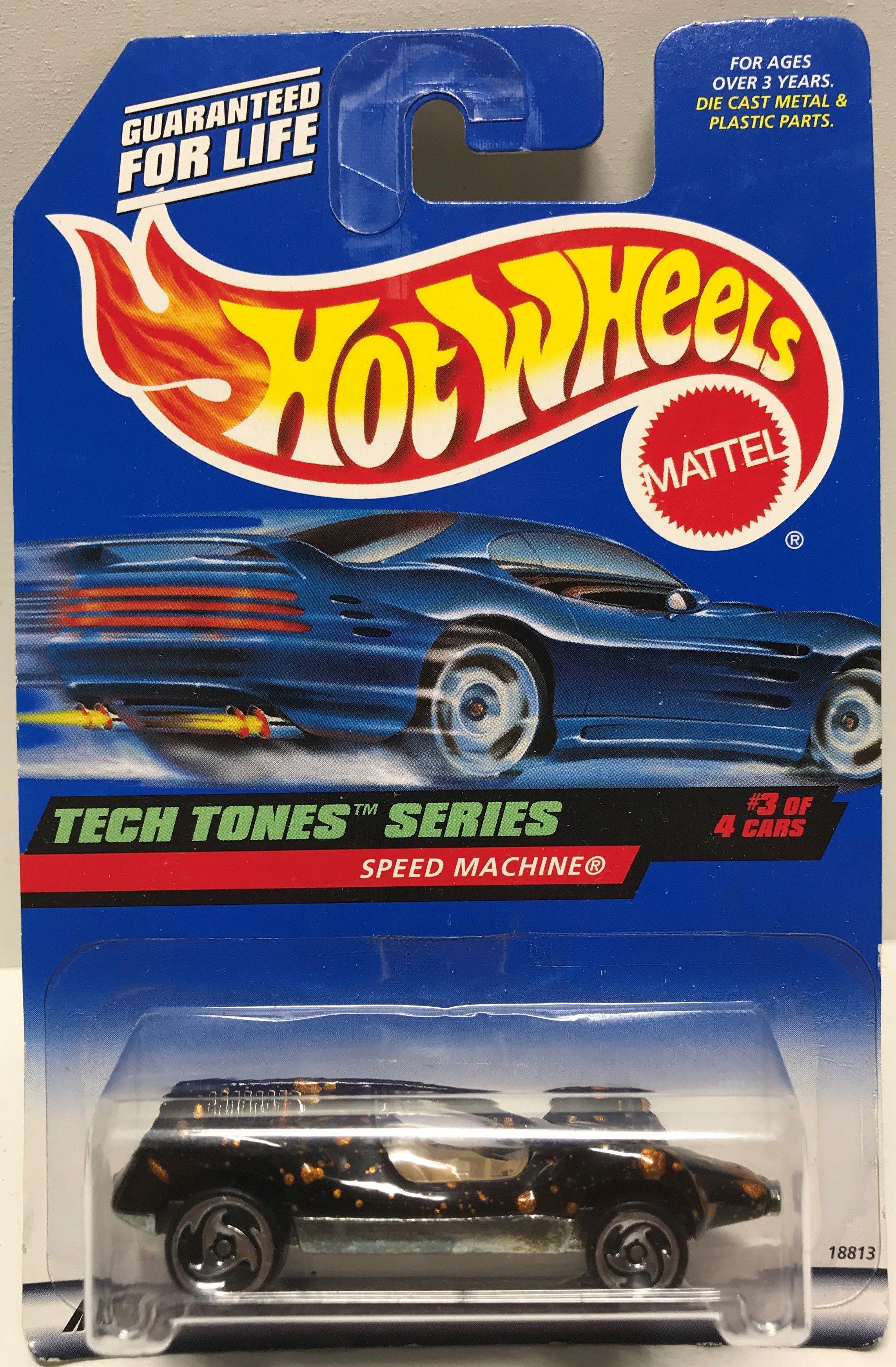 Cars 4 toys  TAS  Mattel Hot Wheels DieCast   Speed Machine  Spider