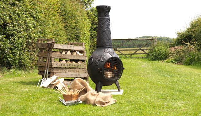 Spray Paint A Chiminea With Rust Oleum Spray Paint Chiminea Contemporary Outdoor Fireplaces Contemporary Electric Fireplace
