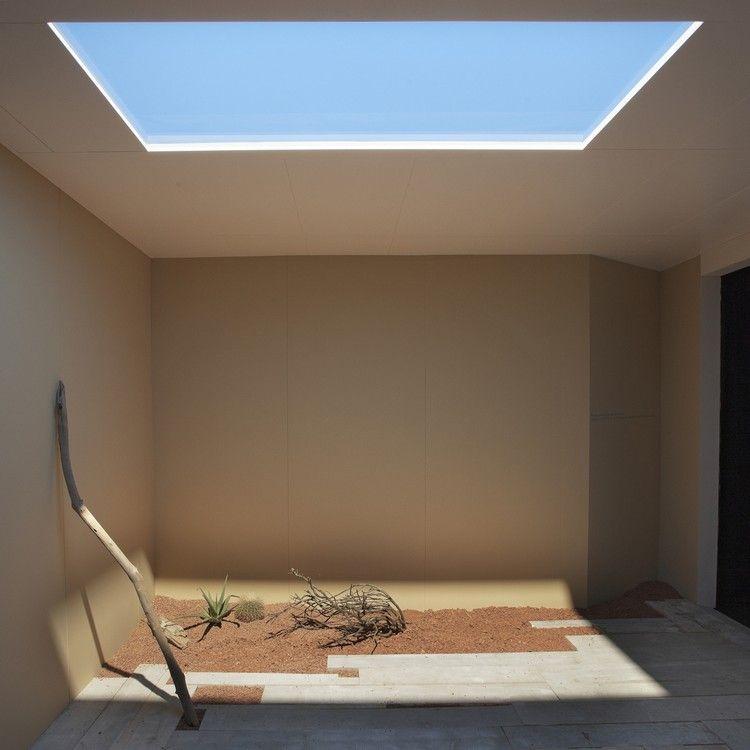 Puits de lumi re artificielle et ambiance tropicale for Peinture carrelage sol interieur