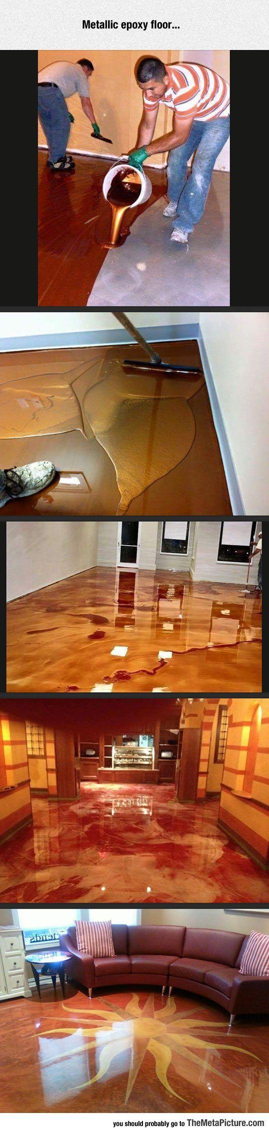 Entzuckend Epoxy Floor: Bodengestaltung, Laminat, Innenausbau, Bodenbelag, Haus  Renovieren, Haus Bauen