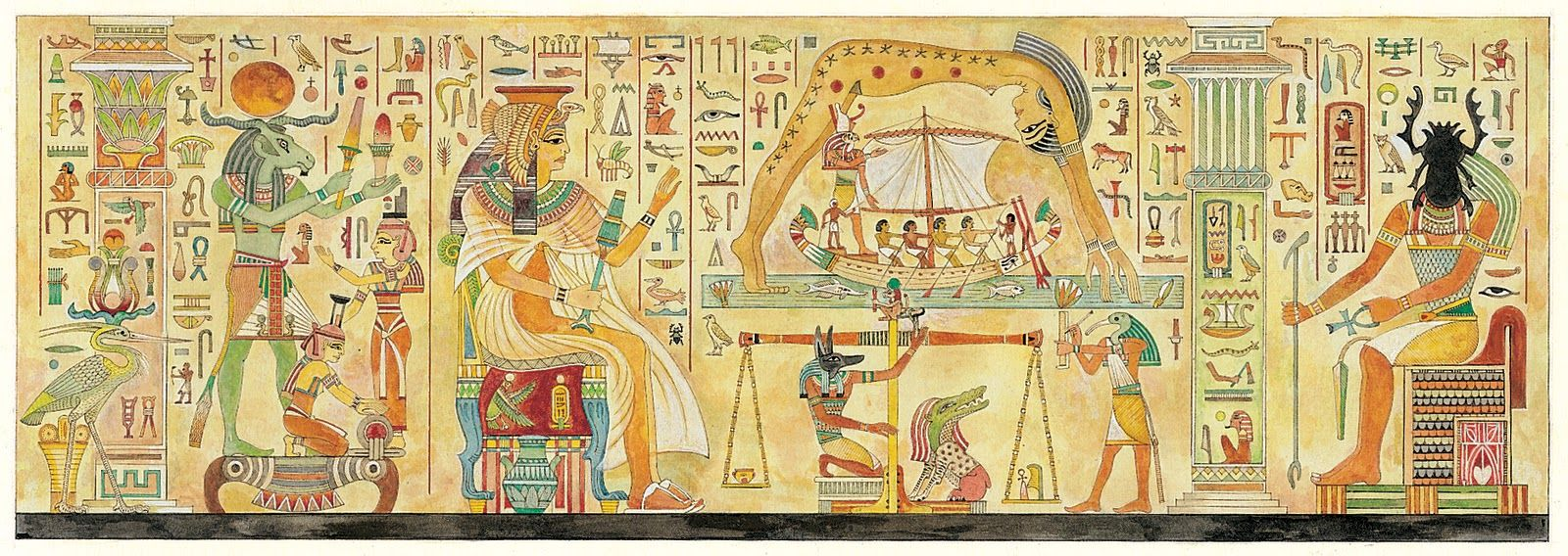 egyptian gods - pesquisa google | art world: ancient egypt