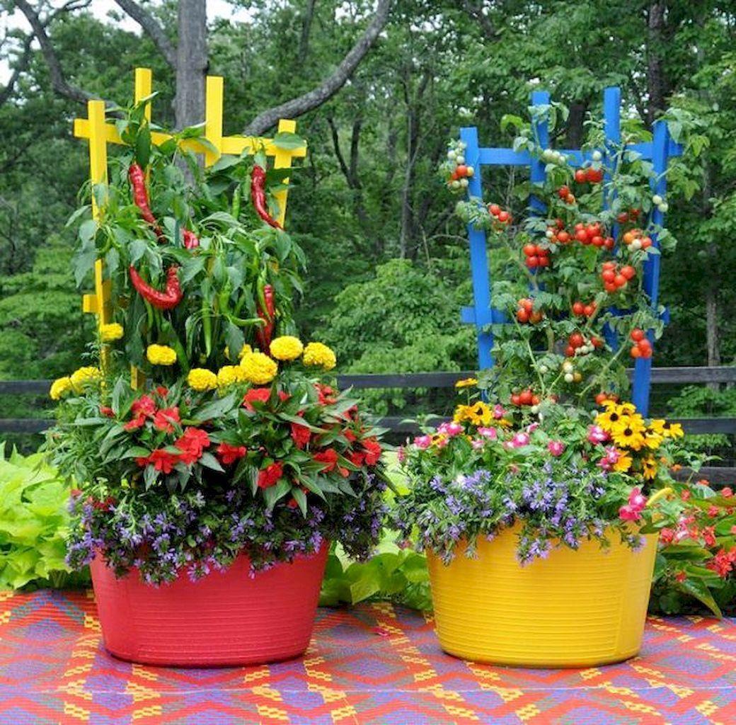 Cool 60 Adorable DIY Container Herb Garden Design Ideas  Https://roomaniac.com