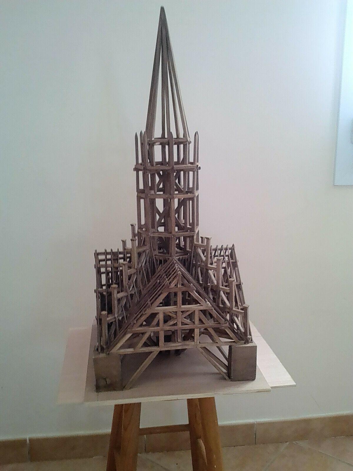 Maquette Notre Dame De Paris Charpente De La Flèche Notre Dame De Paris Charpente Paris