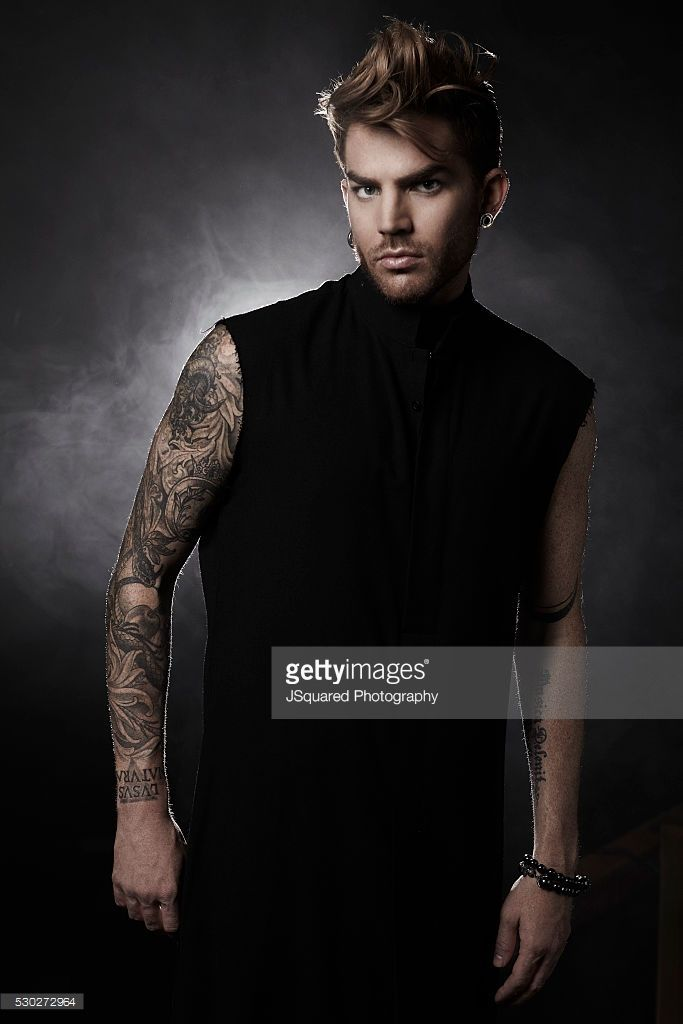 Adam Lambert is photographed for Glamoholic on May 15, 2015 in Los Angeles, California.
