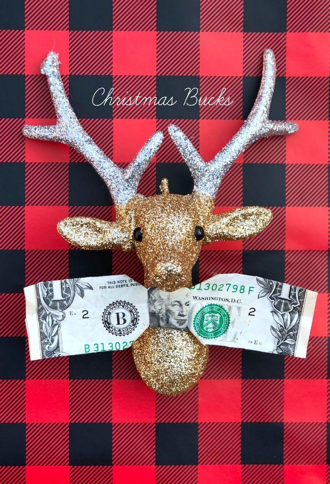 4 fun ways to give money for christmas diy christmas