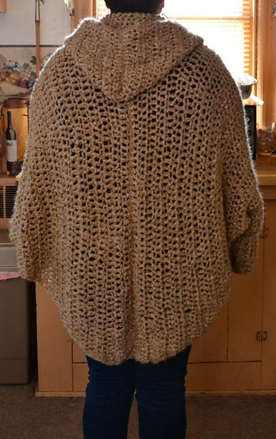 Ravelry Project Gallery For Cuffed Shawl Pattern By Shelle Hendrix