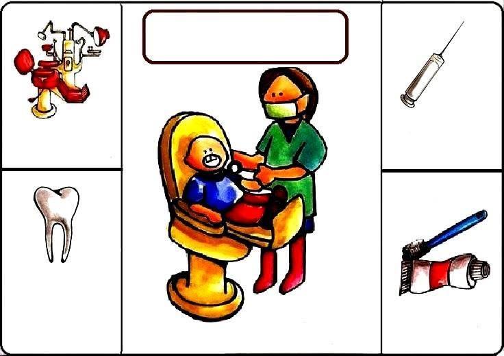 Único Dentistas De Ayudantes De La Comunidad Para Colorear Friso ...