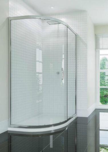 Identiti 1 Door Offset Quadrant Shower Enclosure 6mm Glass 900 X 760mm Identiti 1 Door Offset Quad With Images Quadrant Shower Enclosures Bathroom Design Quadrant Shower