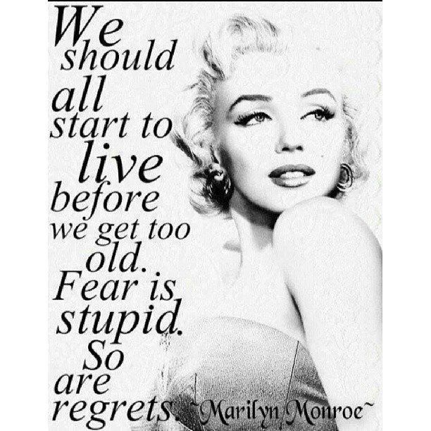 Messed Up Life Quotes: Marylin Monroe And