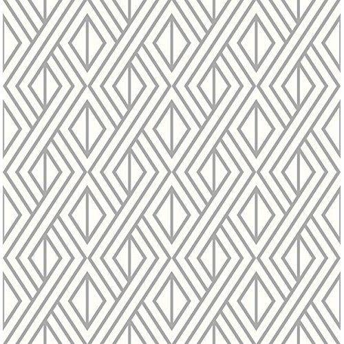 Tempaint Removable Peel And Stick Paint Seattle Blue 2 0 Amazon Com Geometric Wallpaper For Walls Geometric Wallpaper Geometric Wallpaper Silver