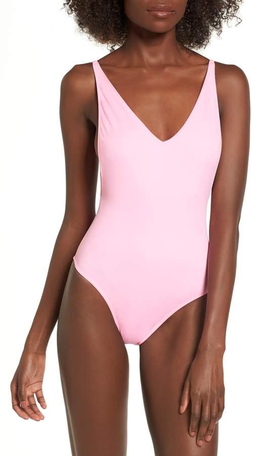 8d58b0f0c4 Topshop Pamela One-Piece Swimsuit   Bikinis