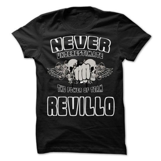 NEVER UNDERESTIMATE THE POWER OF Revillo - Awesome Team - #black shirt #tshirt art. BUY NOW => https://www.sunfrog.com/LifeStyle/NEVER-UNDERESTIMATE-THE-POWER-OF-Revillo--Awesome-Team-Shirt-.html?68278