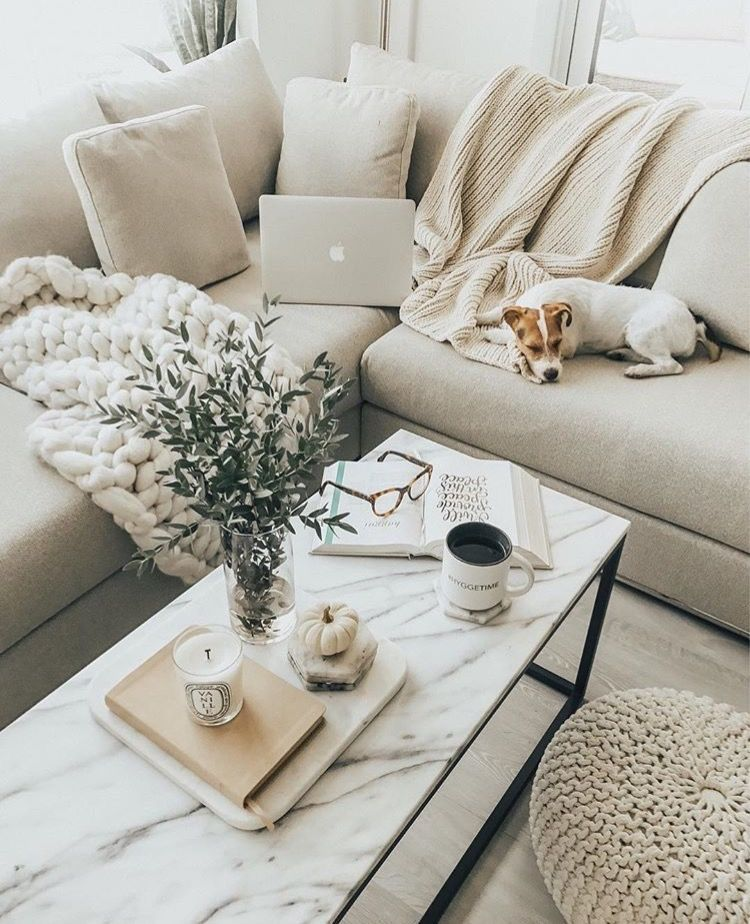 Pin By Amy On Apartment Goals Cozy Living Room Design Living Room Decor Neutral Neutral Living Room