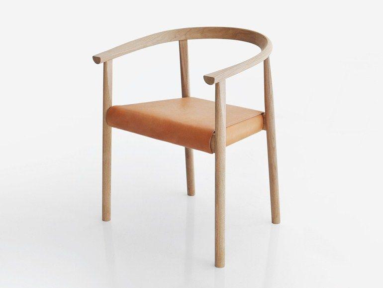 Sedia con braccioli tokyo by bensen furniture pinterest interni