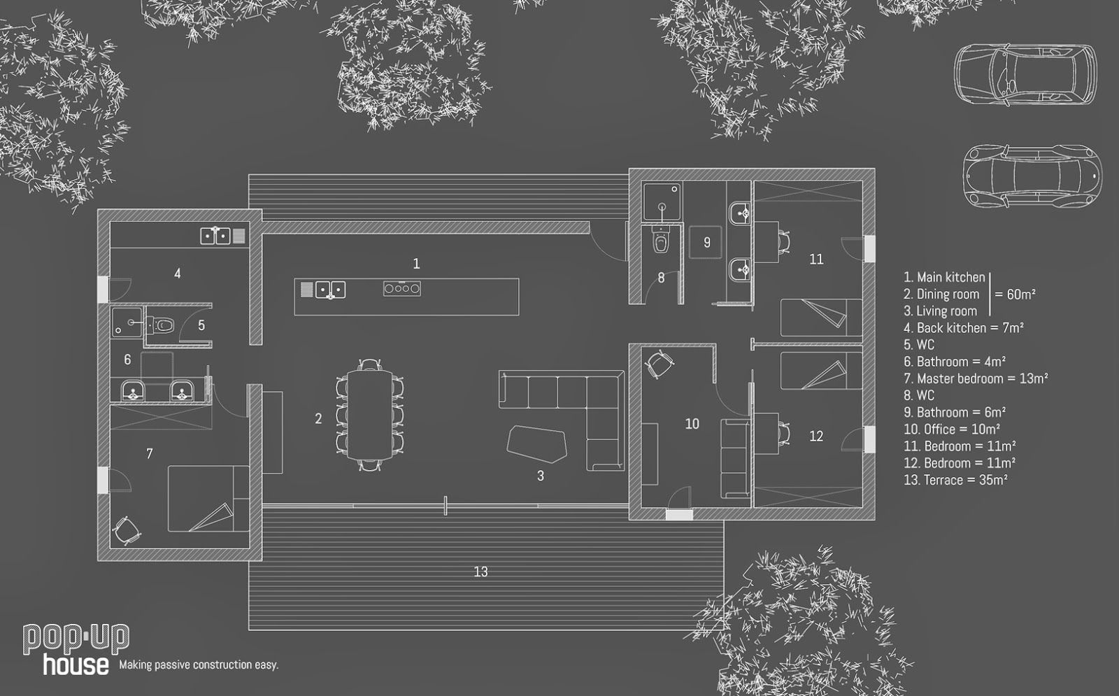 Build In 4 Days Popup House Architecture Passive House