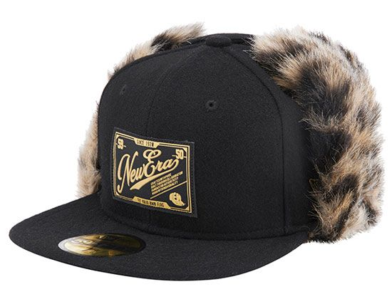 c26587d02 Black Pattern Fur Dog Ear 59Fifty Fitted Cap by NEW ERA | Japanese ...