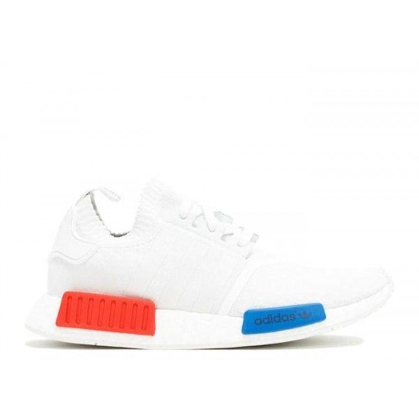 Poco adidas originali ua autentico nmd runner pk bianco rosso - blu