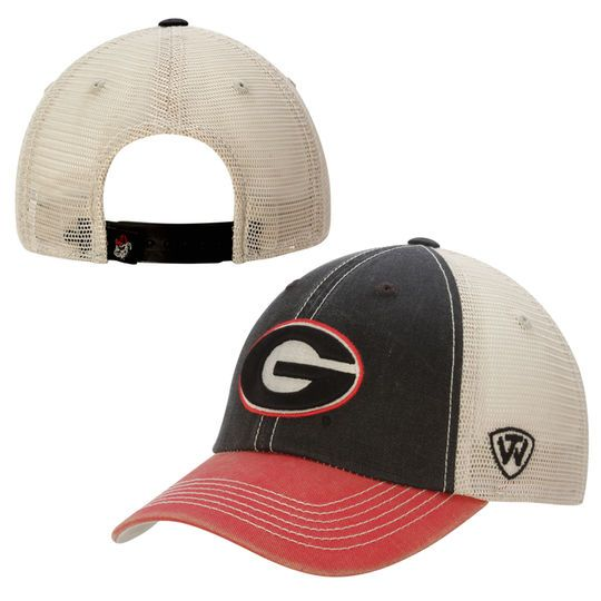 Georgia Bulldogs Top of the World Offroad Trucker Adjustable Hat – Red d78d588df