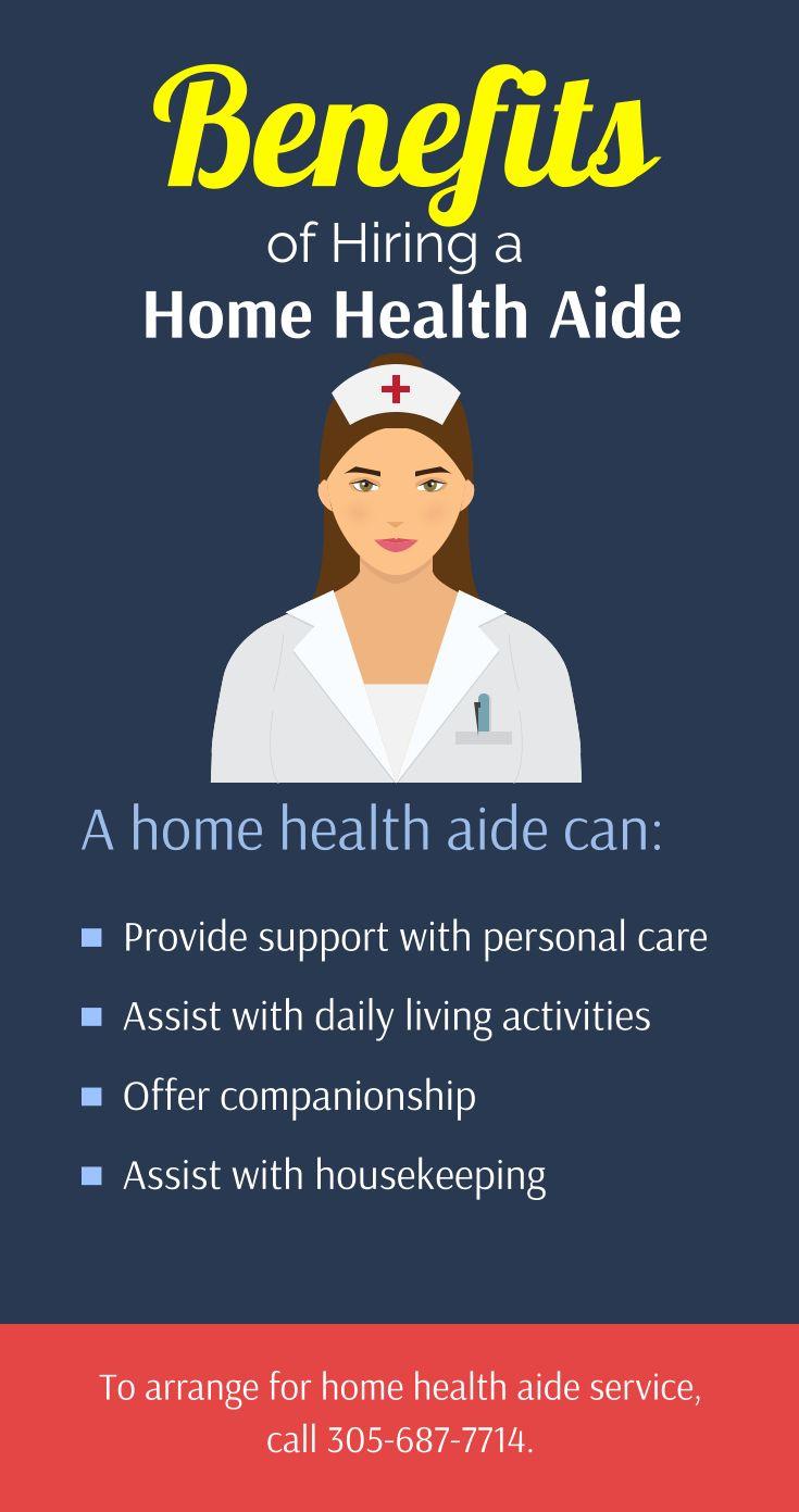 Benefits of hiring a home health aide homehealth