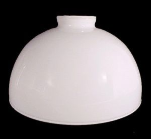 Milk glass 10 reflector lamp shade perfect for floor lamps or milk glass 10 reflector lamp shade perfect for floor lamps or pendant lights aloadofball Image collections