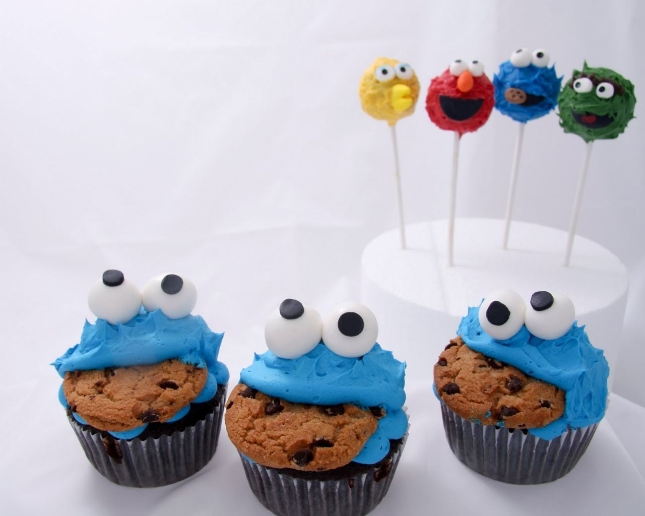 Cookie Monster Cupcake For Baby Shower 542a262520c5d (1280×1024) | Cookie  Monster | Pinterest | Cookie Monster