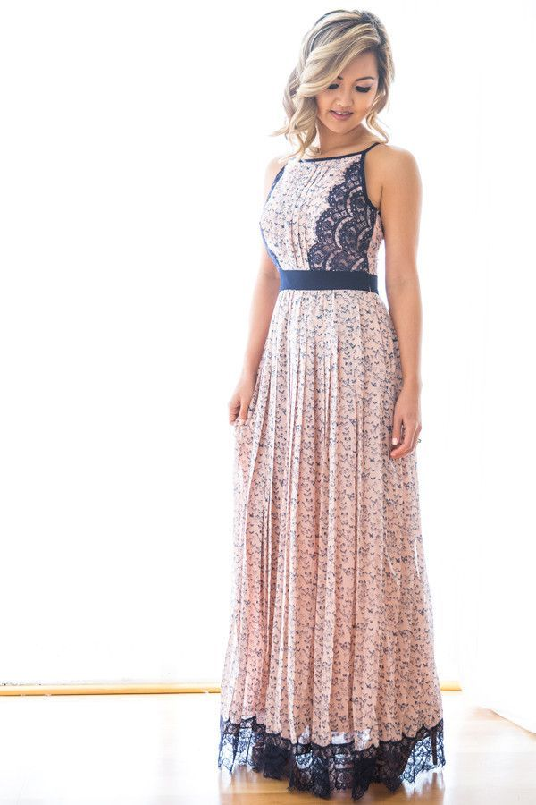 Cute long dress for summer