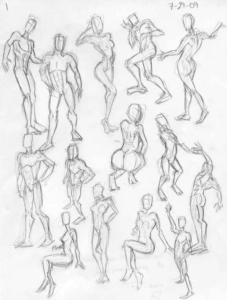 pencils How to draw the female body - anatomy and muscles | Poses ...