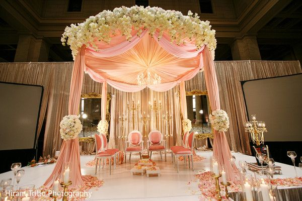 Over The Top Indian Wedding Mandap Decoration Wedding Decor