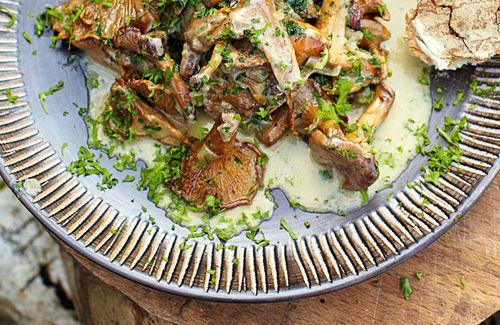 Creamy Mushrooms - Jamie Oliver