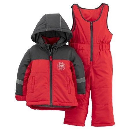 c9b873427 Toddler Boys' 2pc Snowsuit Red - Just One You™Made by Carter's® : Target