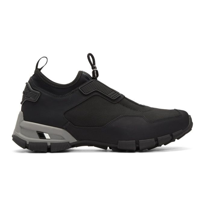Black Technical Sneakers Prada CWCEJFBkcA