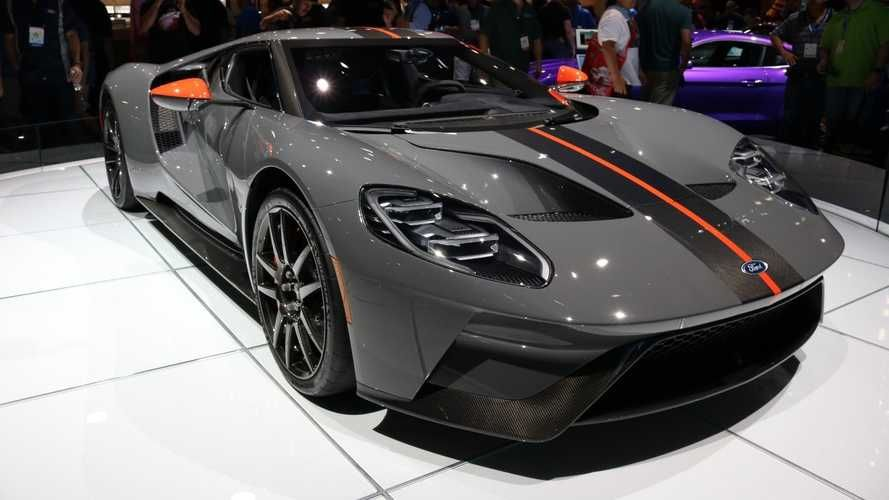 2019 Ford Gt Carbon Series Is Lighter Limited Lovely Ford Gt Ford Gt40 2019 Ford