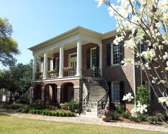 Gorgas House In The Spring The University Of Alabama Beautiful