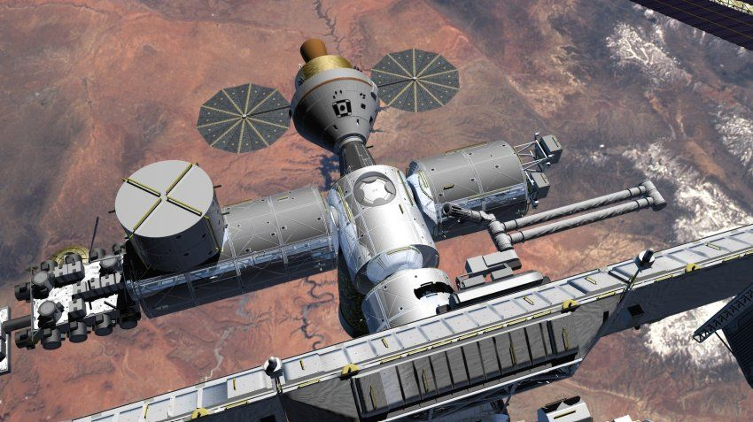 Flugphysik Gunstiger Zum Mars Raumstation Raumfahrt Weltraum