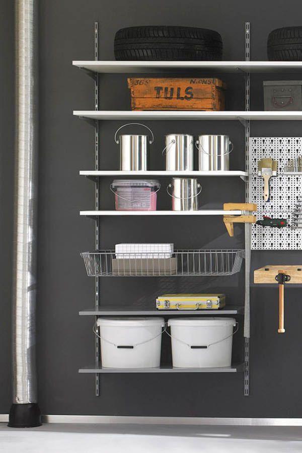Vorratskammer Regale regalsystem für die garage regale für keller garage