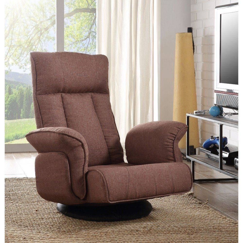 Sensational Fabric Upholstered Metal Swivel Game Chair With High Back Pabps2019 Chair Design Images Pabps2019Com