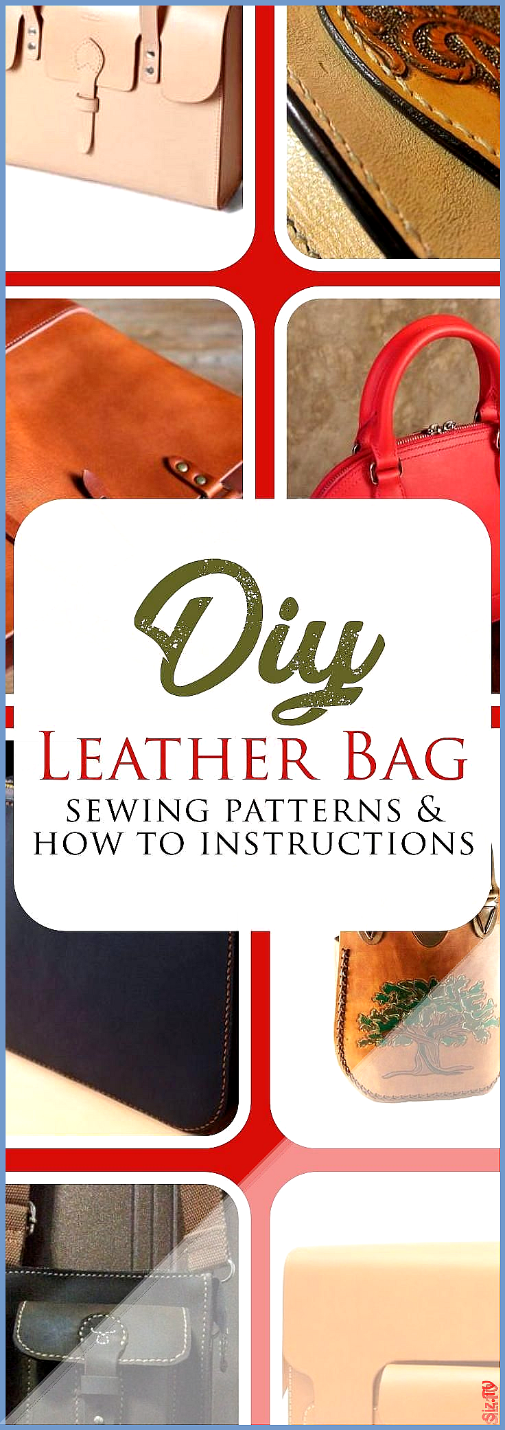 How to Make a Leather Bag How to Make a Leather Bag Terry Underhill Save Images Terry Underhill Discover how to make your very own DIY leather handbag How to Make a Leath...