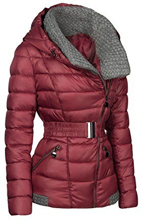 informazioni per 28e83 f7b4a Giacca da sci, invernale, con colletto fatto a maglia e ...