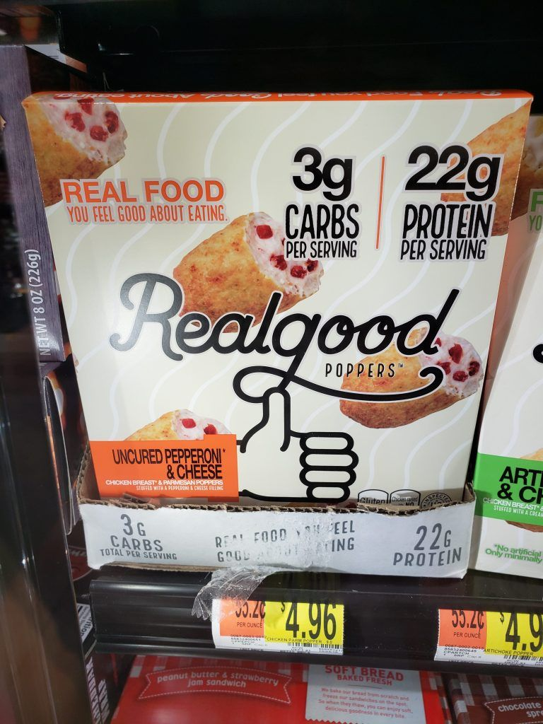 Best 60 Low Carb Keto Walmart Items My Productive