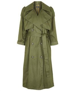 6d756c643998 Topshop Embroidered Trench Coat