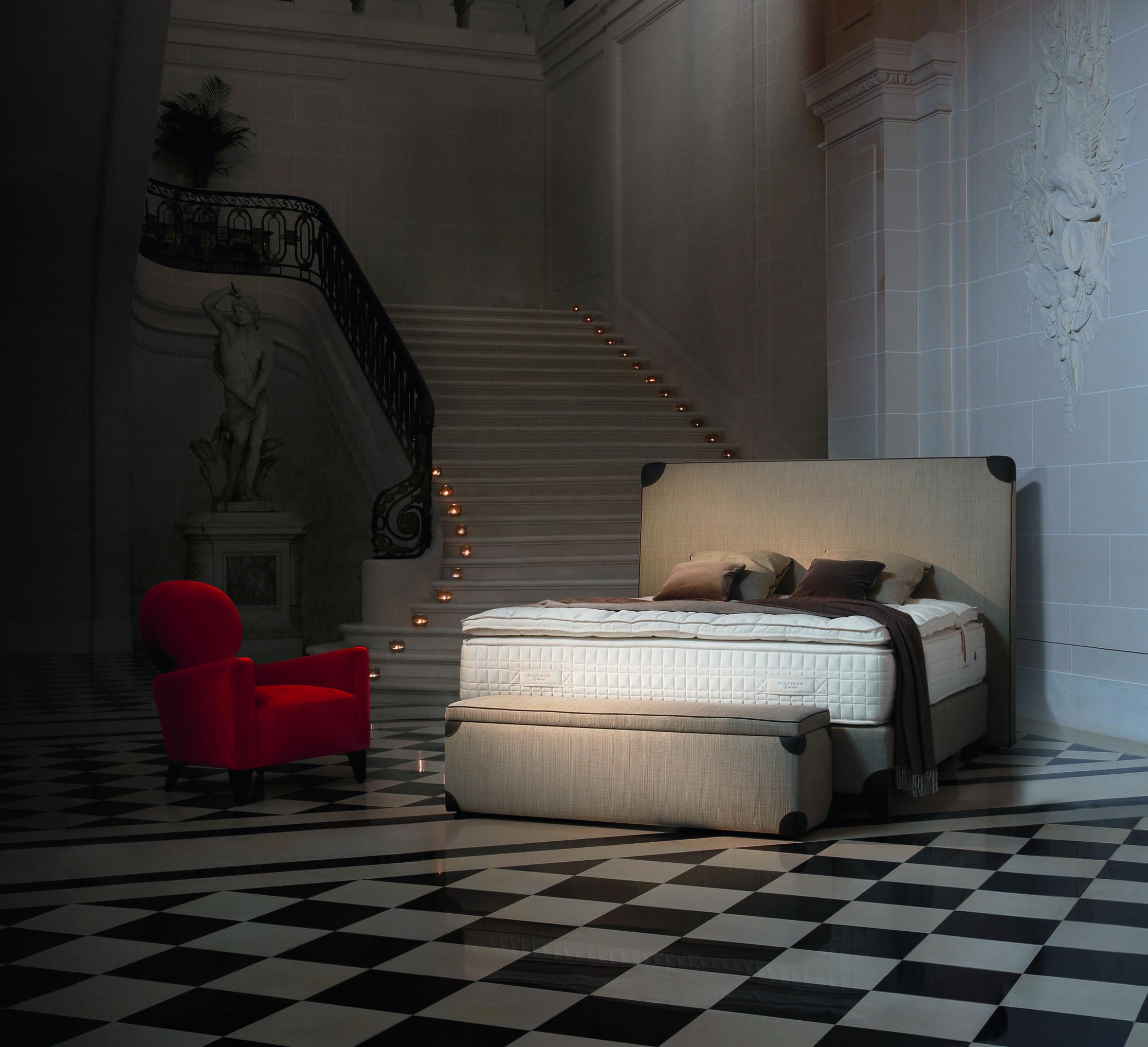 Lit riviera sandrine chollet pour treca interiors paris for Tondelli arredamenti