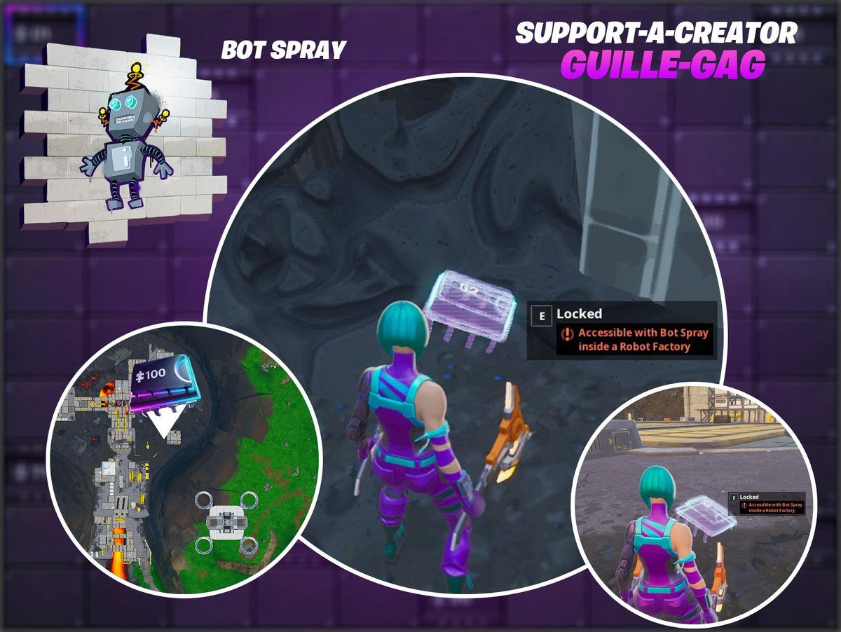New Fortnite Season 9 Fortbyte 52 Location Accessible With