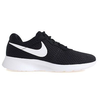 offer discounts well known reasonably priced Nike Tanjun Mens 812654-011 Black White Mesh Athletic ...
