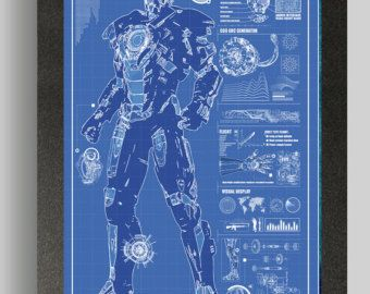 Iron Man War Machine Suit Blueprints 16x24 In 2020 Iron Man Suit Iron Man Iron Man Armor