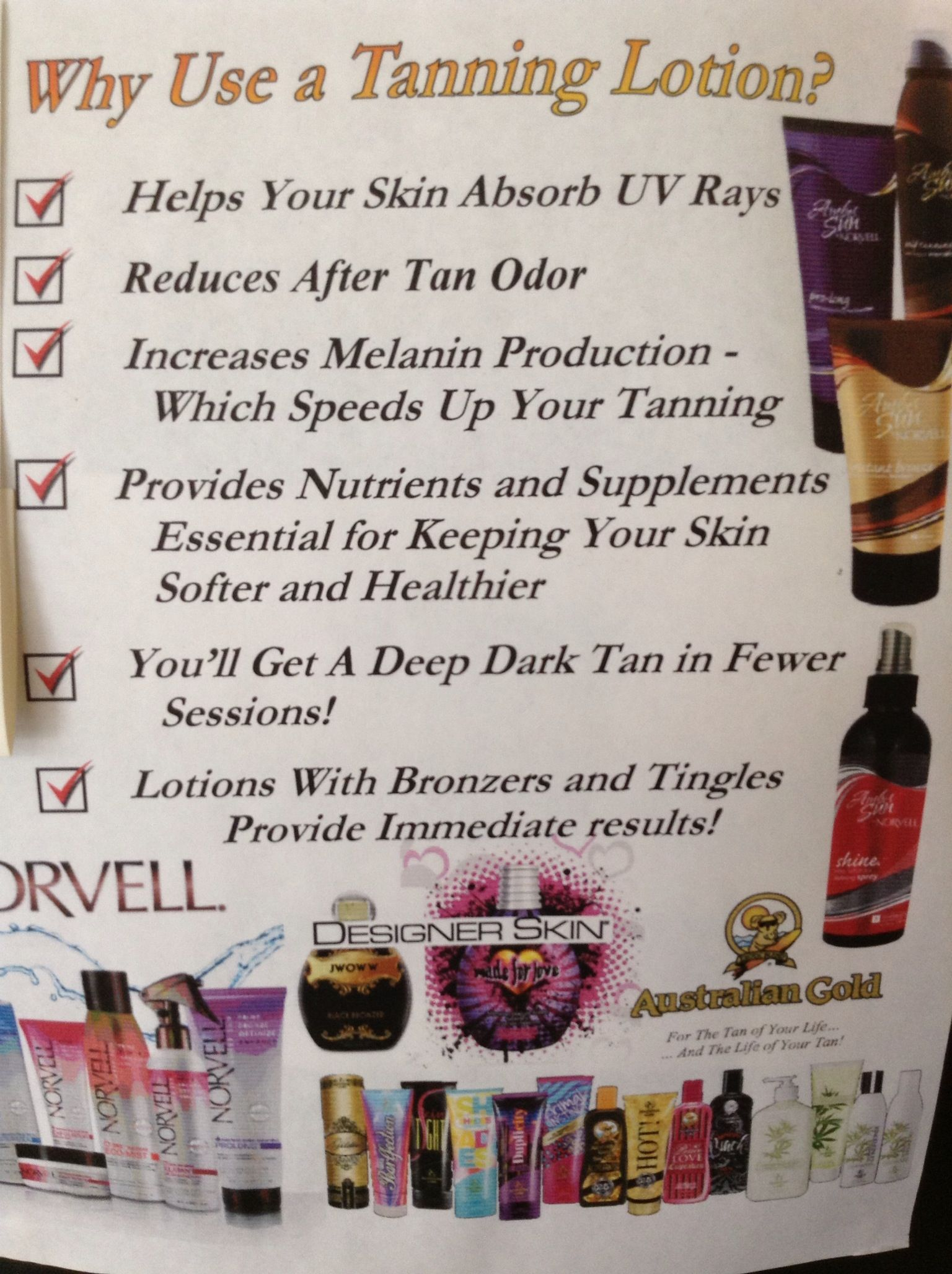 Why you should use a tanning lotion Tanning lotion