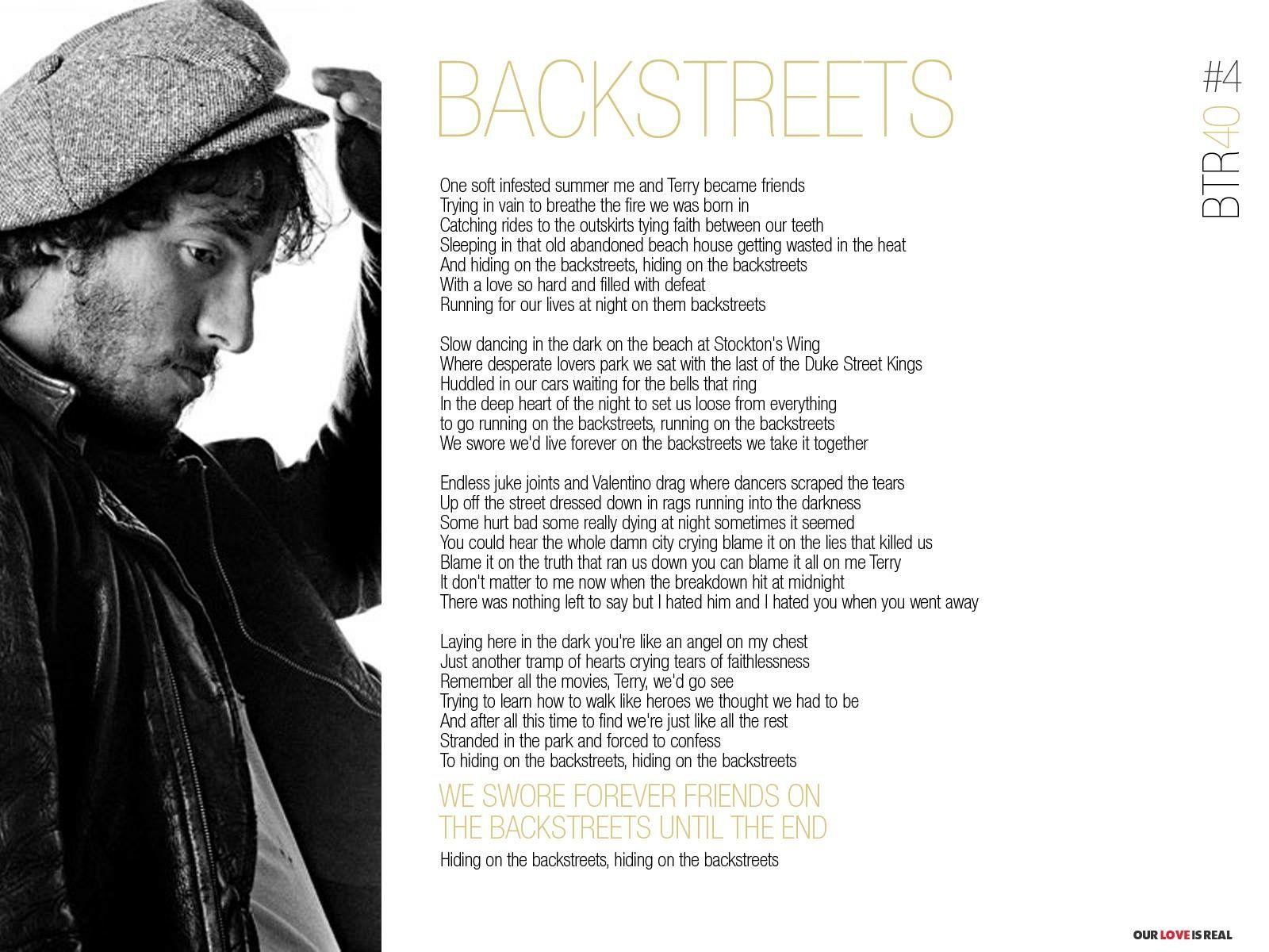Bruce Springsteen - Born To Run - Backstreets   E Street