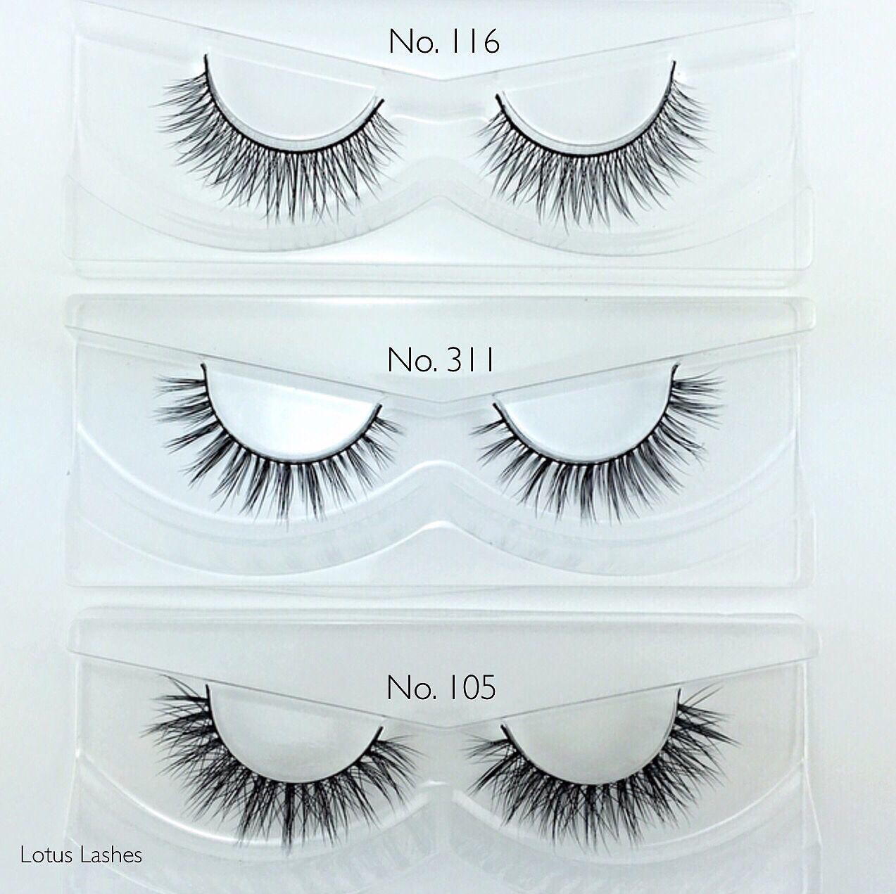 e00e1431e61 Lotus Lashes natural false eyelash styles | // Our Beautiful Lashes ...