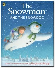 The Snowman and the Snowdog by Raymond Briggs published by Puffin. Narrated for Me Books by Benedict Cumberbatch.