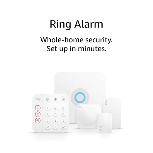 Amazon Com All New Ring Alarm 5 Piece Kit 2nd Gen Home Security System With Optional 24 7 Professional In 2020 Home Security Systems Home Security Amazon Devices