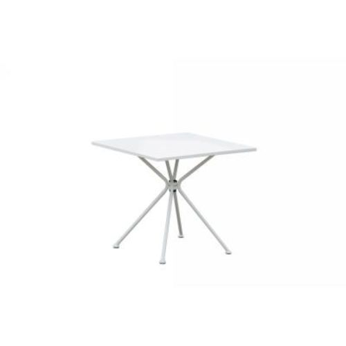 Inko Eisen Tisch Soho Weiss 80 X 80 Cm Gartentisch Beistelltisch